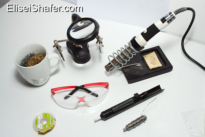 my soldering equipment elisei shafer. Black Bedroom Furniture Sets. Home Design Ideas
